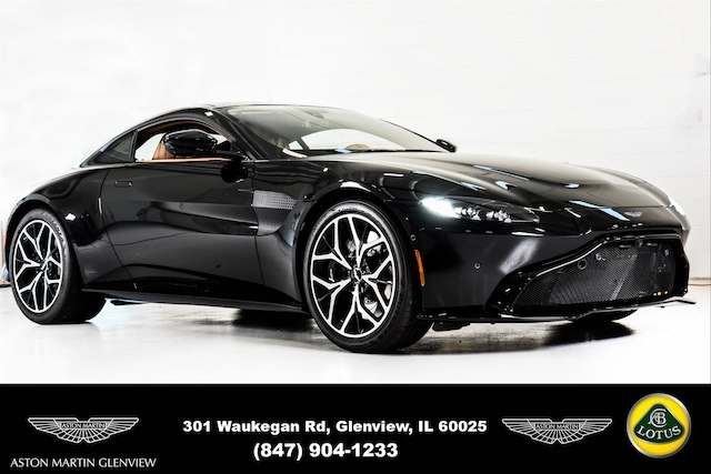 New 2019 Aston Martin Vantage Base 2d Coupe In Glenview A90007
